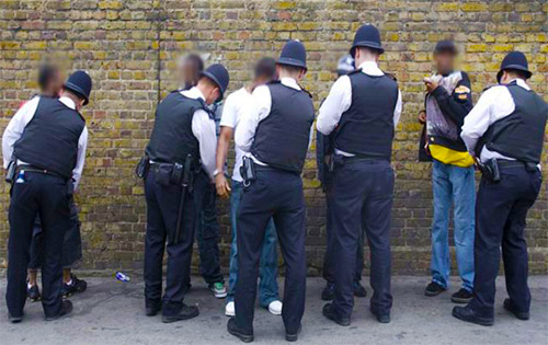 Do you think you have been unlawfully stopped and searched?
